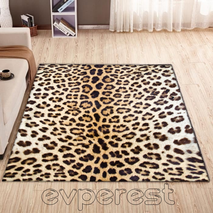 Evperest Modern Halı Leopar Model